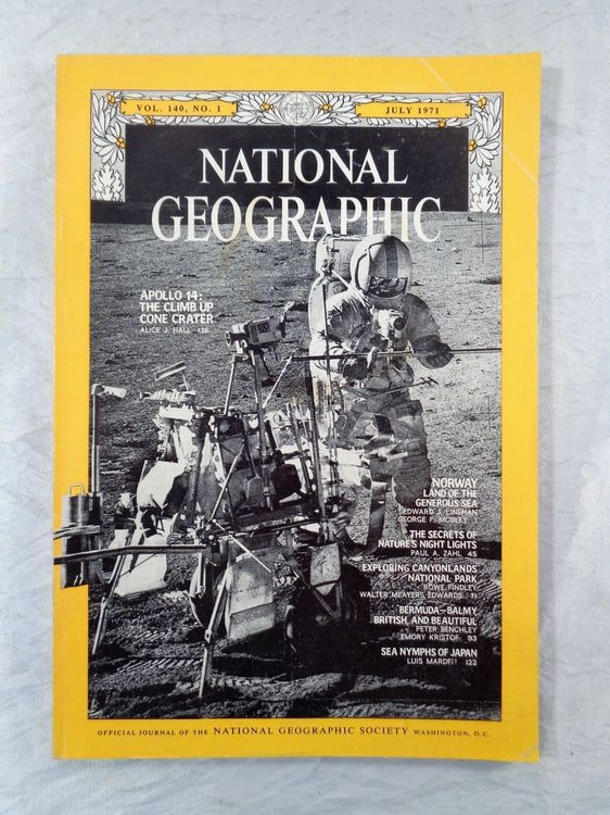 National Geographic 1971  Apollo 14 u.a.