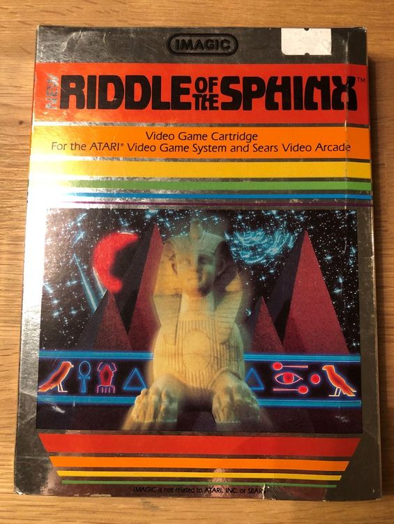 Riddle of the Sphinx für Atari VCS 2600