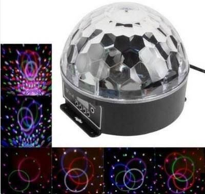 EFFEKT  LED DISCO PARTY LICHT KUGEL BALL