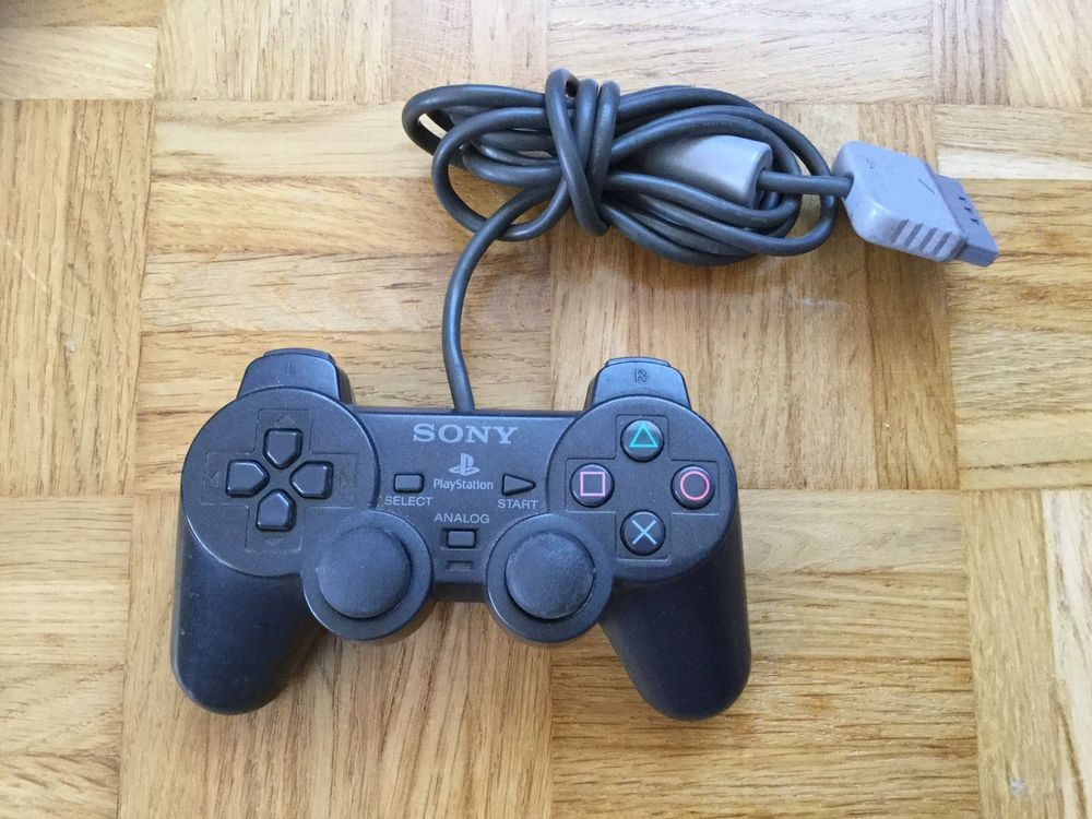 PS1 Controller Anthrazit