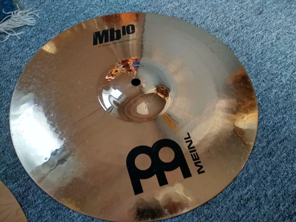 "Meinl 14"" Medium Soundwave Mb10 Hi-Hat"