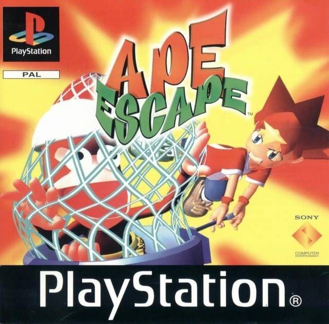 Ape Escape OVP