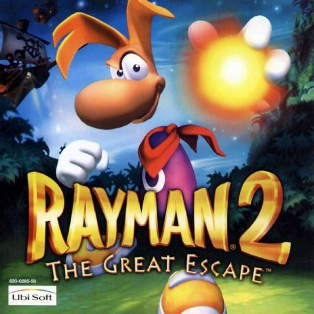 Rayman 2: The Great Escape OVP
