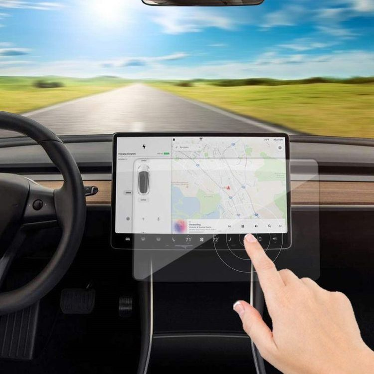 Displayschutzfolie Tesla Model 3