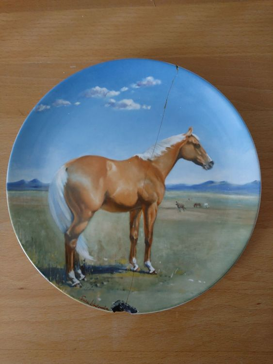 "Spode Teller ""The American Quarterhorse"""