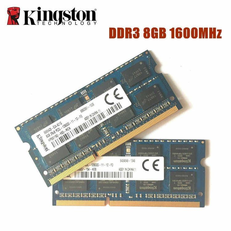 8GB PC3L 12800S Kingston RAM Modul