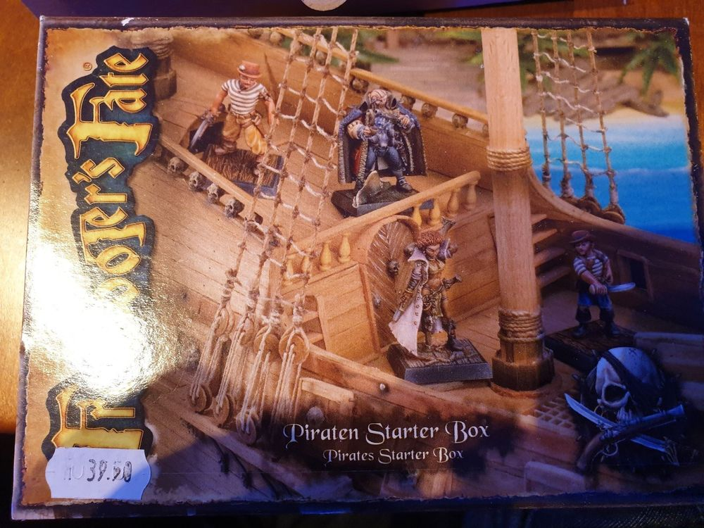 Tabletop Freebooters Fate Piraten Box