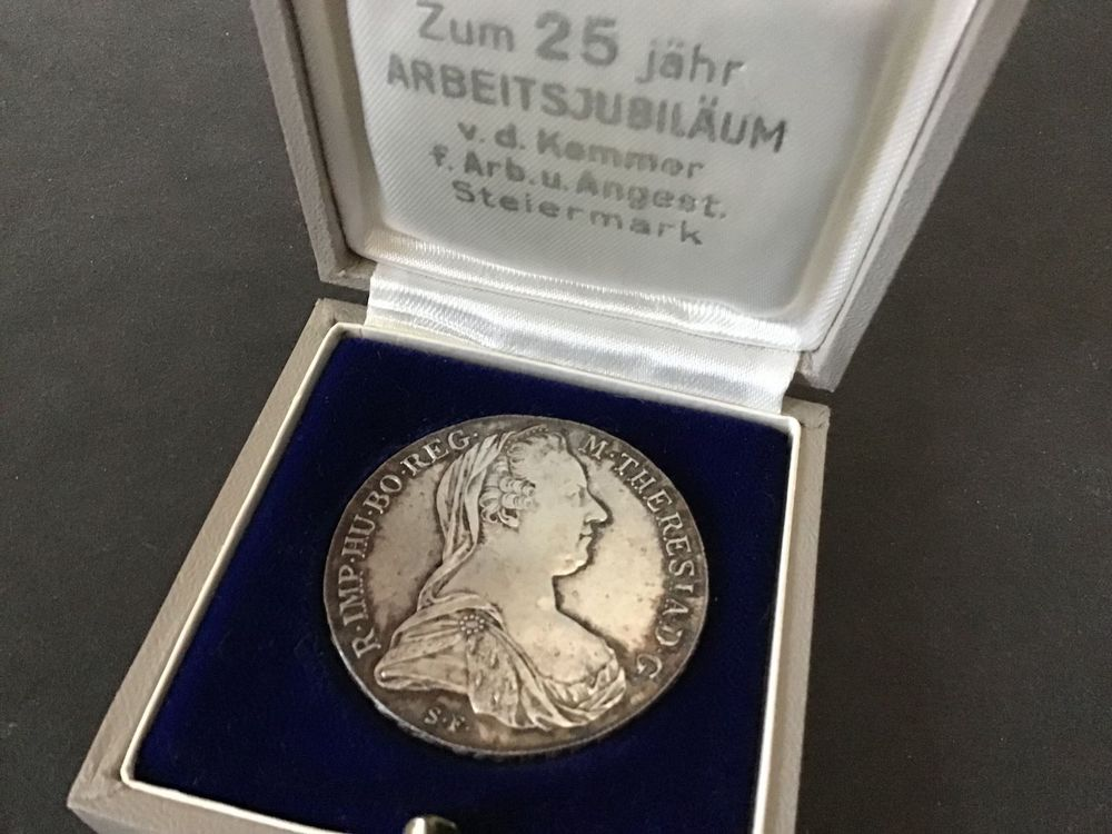 Gedenk-Medaille Maria-Theresia