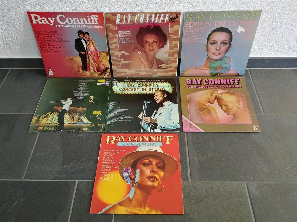 Ray Conniff  6 x LP