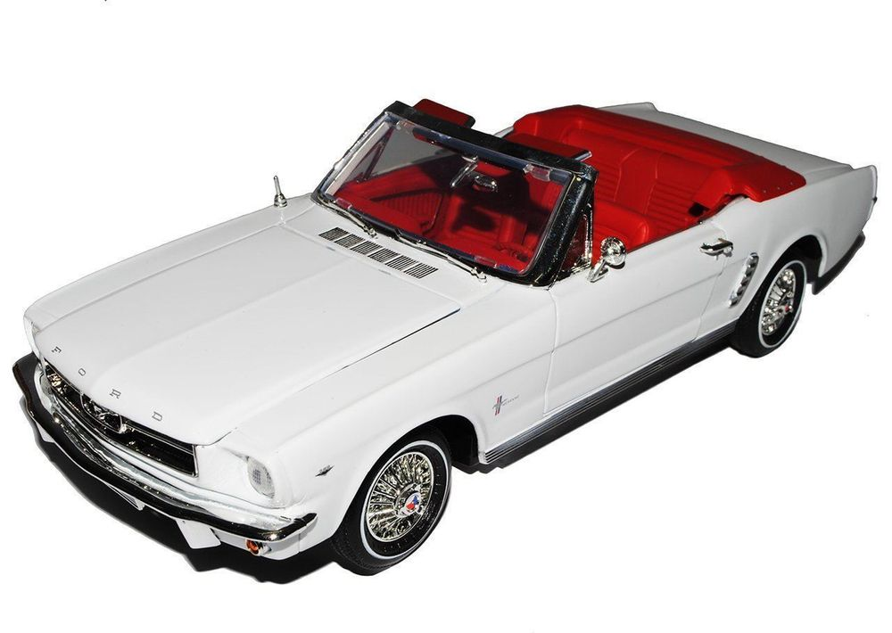 Ford Mustang Convertible 1964-1966 weiss