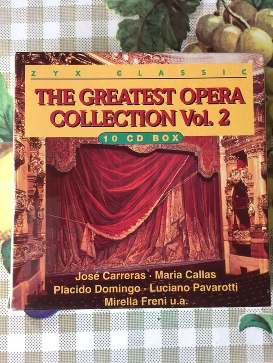 Greatest Opera Collection Vol.2  Box-Set
