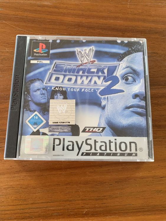 PlayStation 1: Smack Down 2