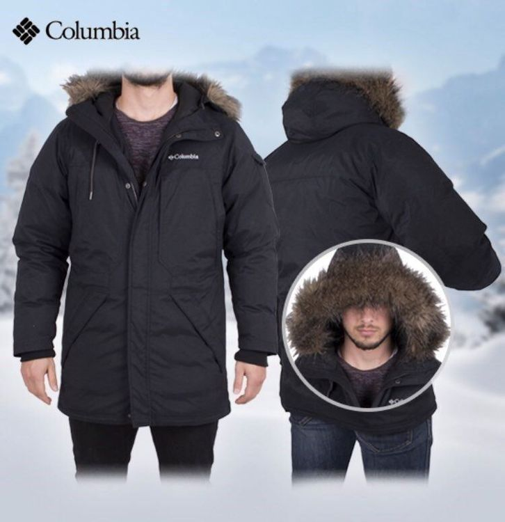 Parka new Columbia ice wind II Size L