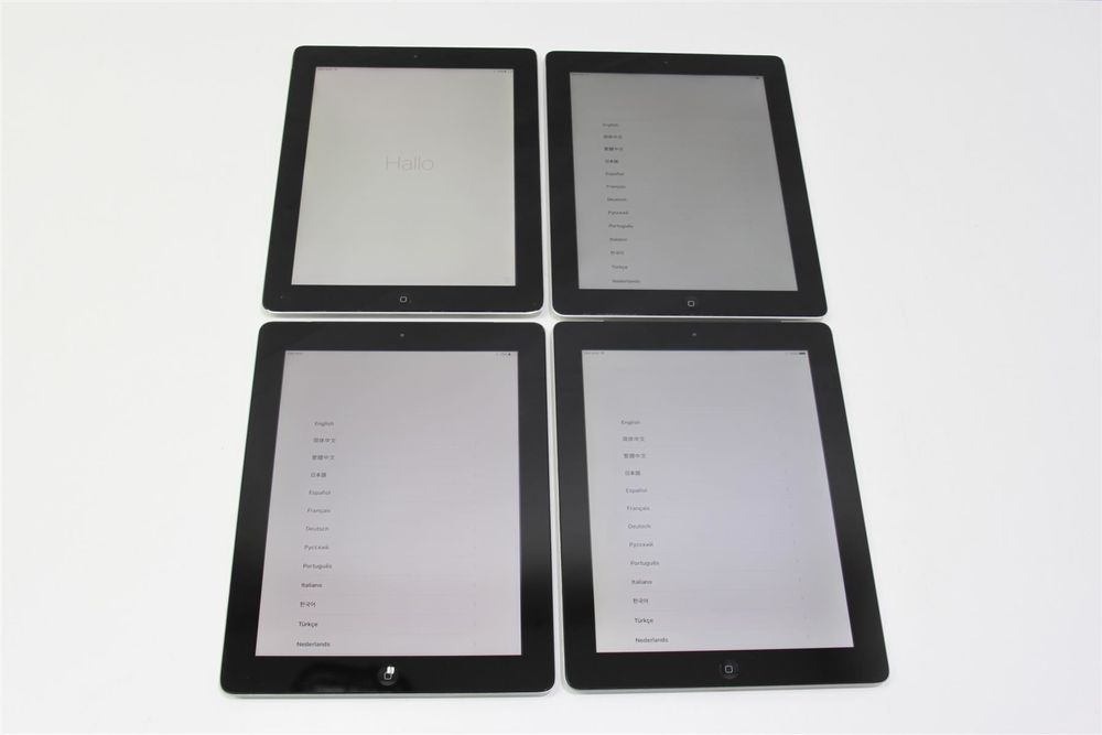 4x APPLE iPad 4 Cellular (19060947)