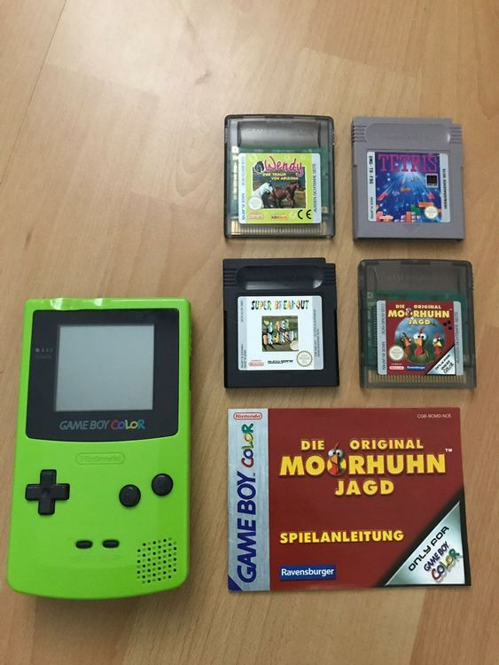 Nintendo Gameboy Color Moorhuhn