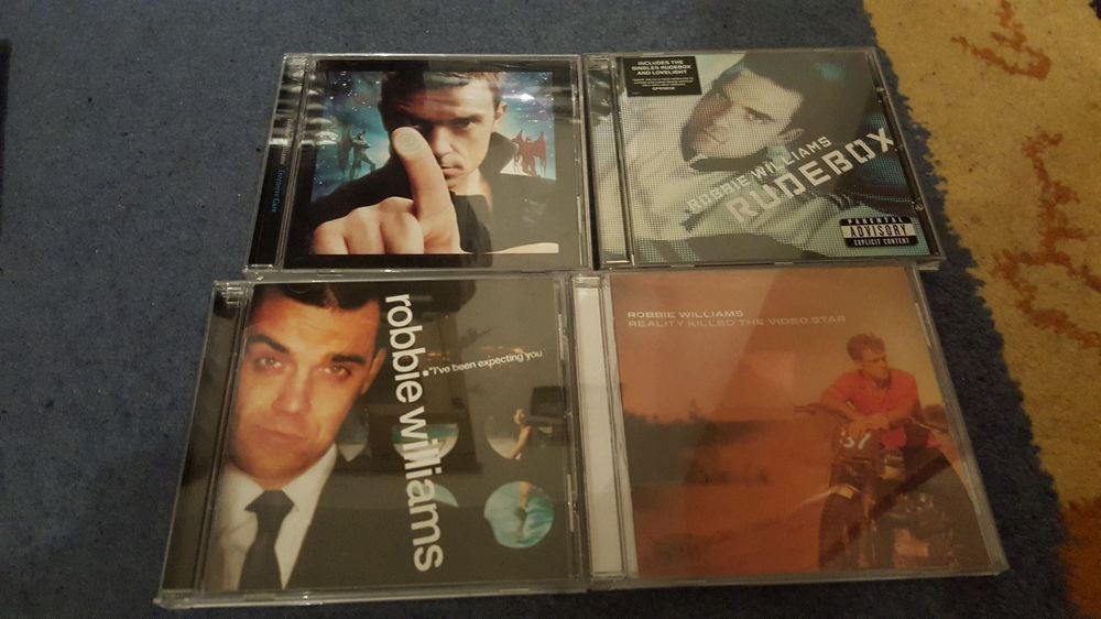 Robbie Williams 4 CD
