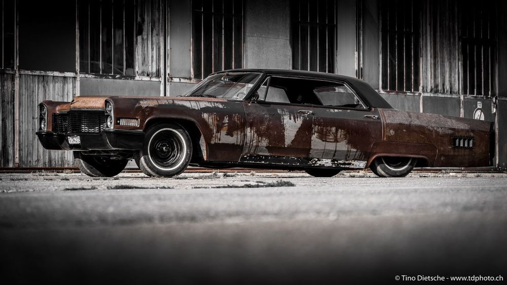 CADILLAC Deville Zombie Sled