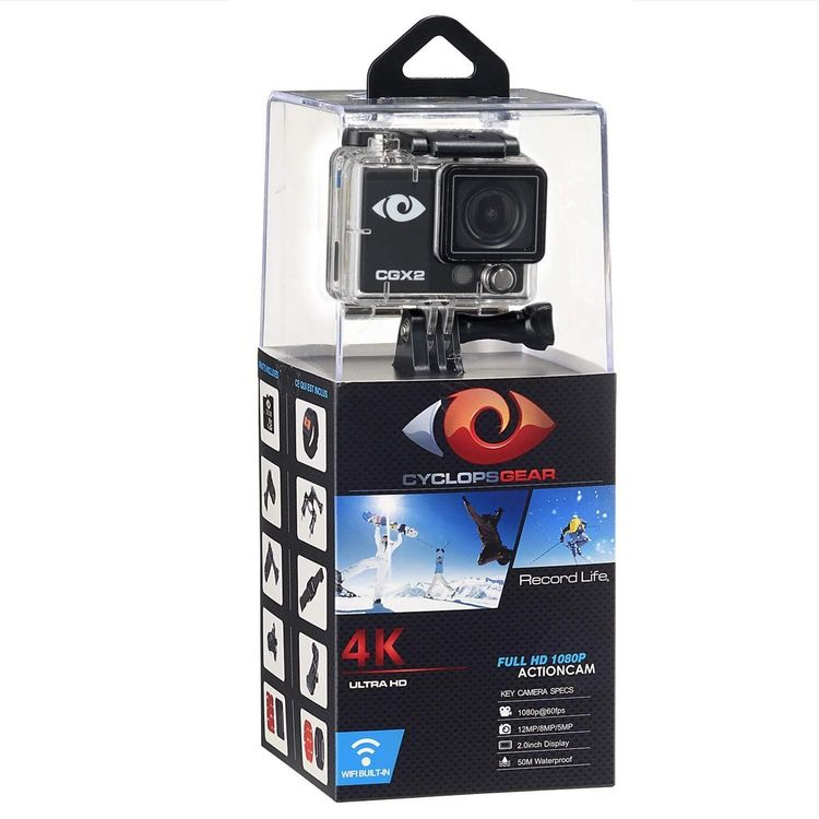 ACTION CAM CGX2 Action Cam Full HD 4K