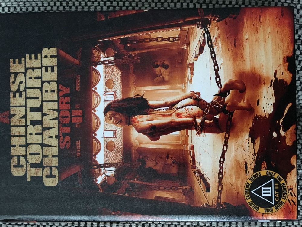 Dvd,horror, a chinese torture chamber 2