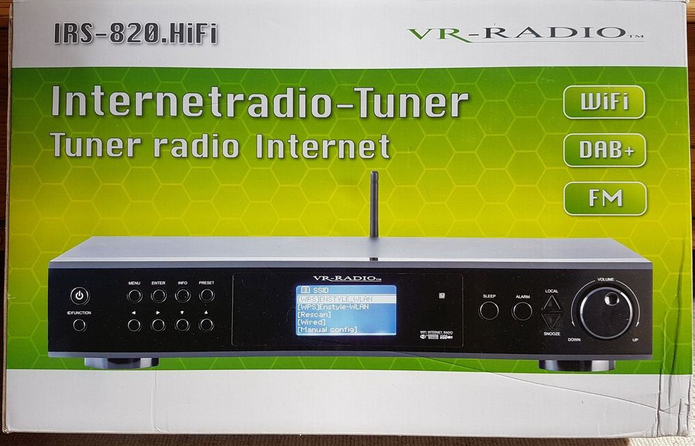 Internet-Radio-Tuner VR-Radio IRS-820