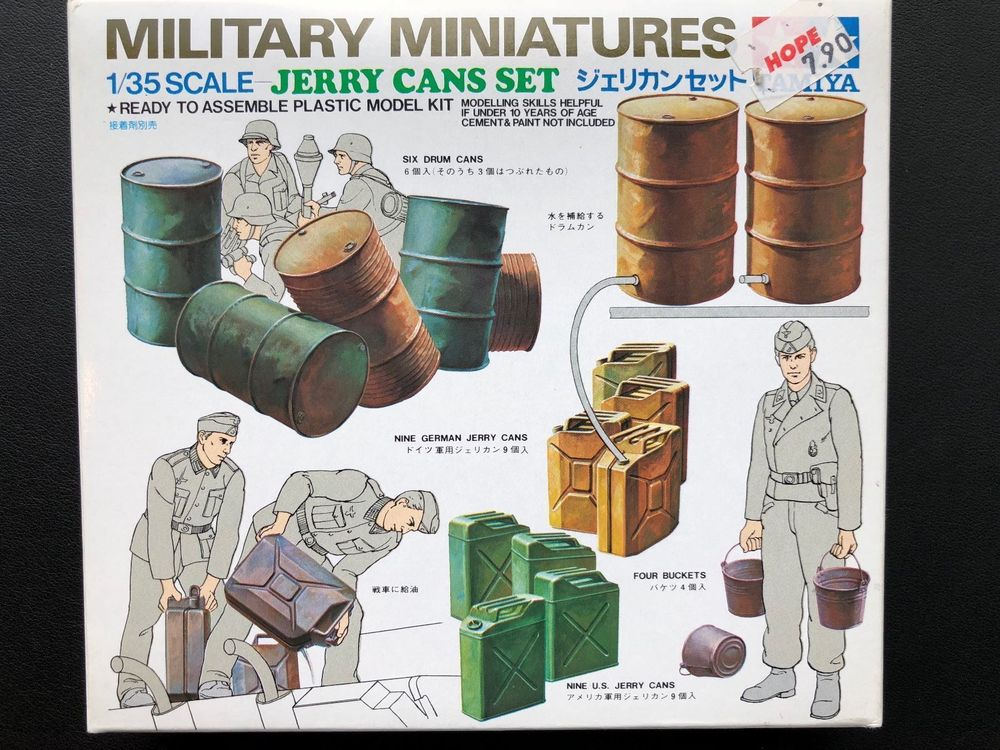 Jerry Cans Set