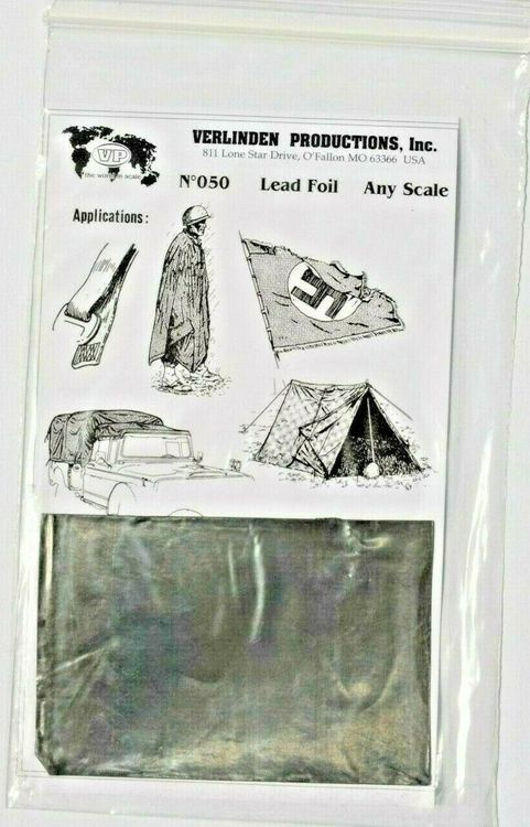 Verlinden Nr. 050 - Lead Foil (any scale