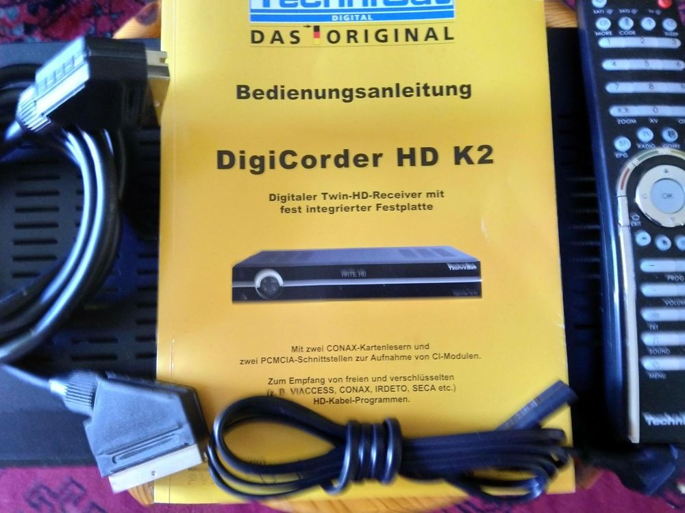 Technisat DigiCorder HD K2