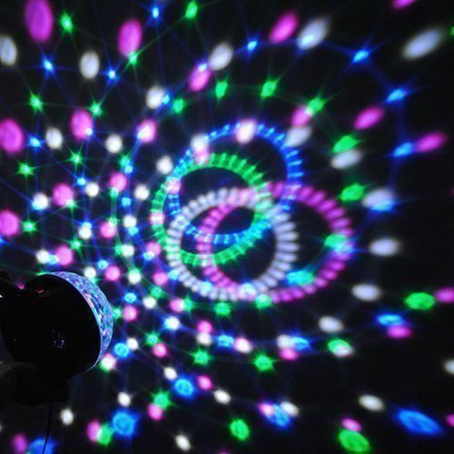 LED Discokugel Party Disco Licht RGB