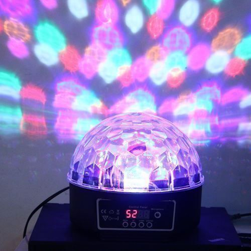 LED Disco Beleuchtung Discokugel RGB