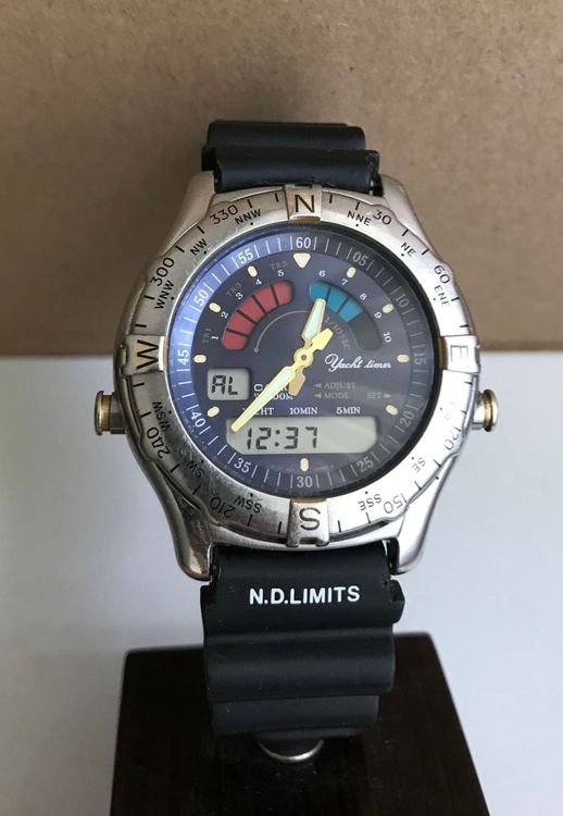 Casio AW-513 Yacht Timer Vintage LCD