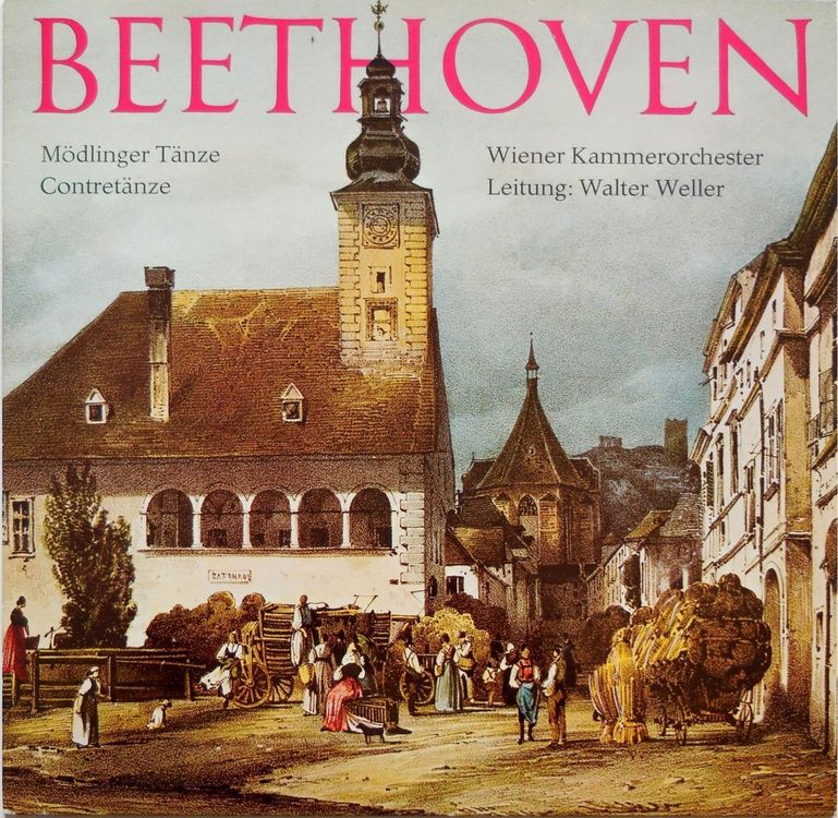 Beethoven: Mödlinger Tänze etc. (LP)