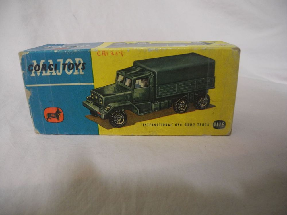 CORGI TOYS NR. 1118 6X6 INTERNATIONAL