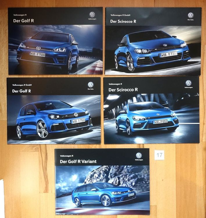 VW Golf Scirocco  R Prospekt Lot #17