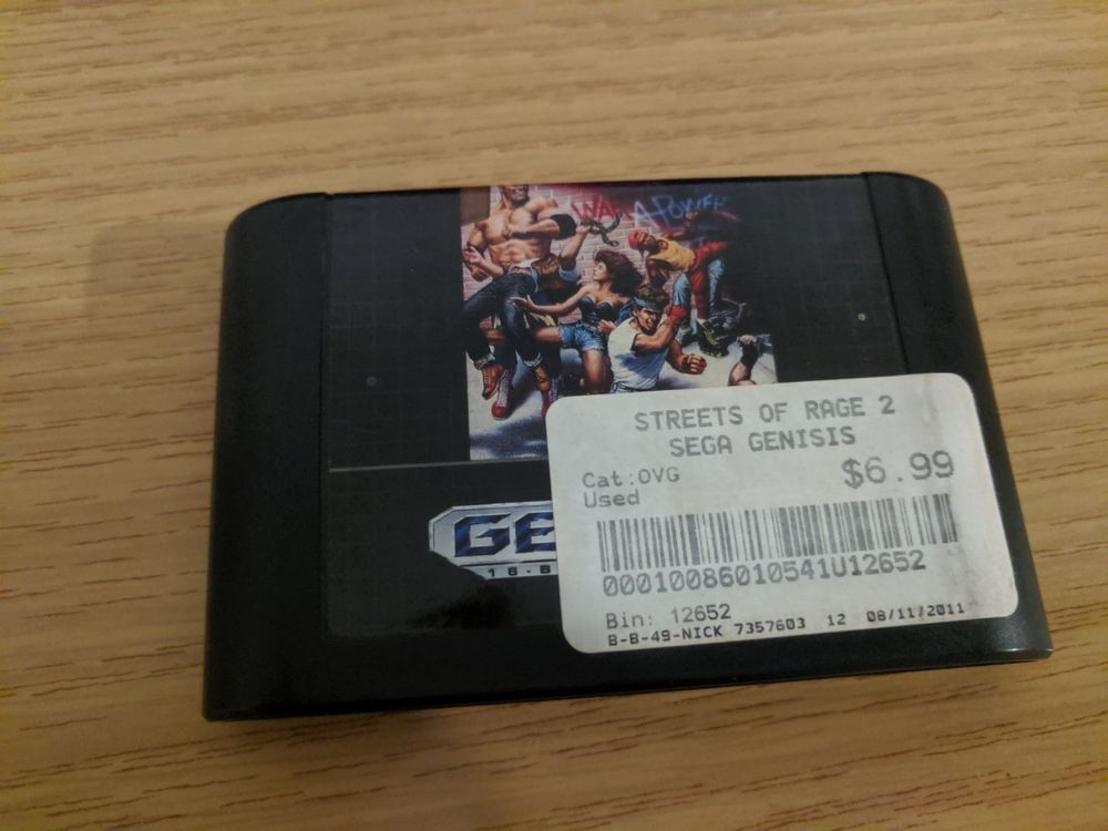 Streets of Rage 2 -US