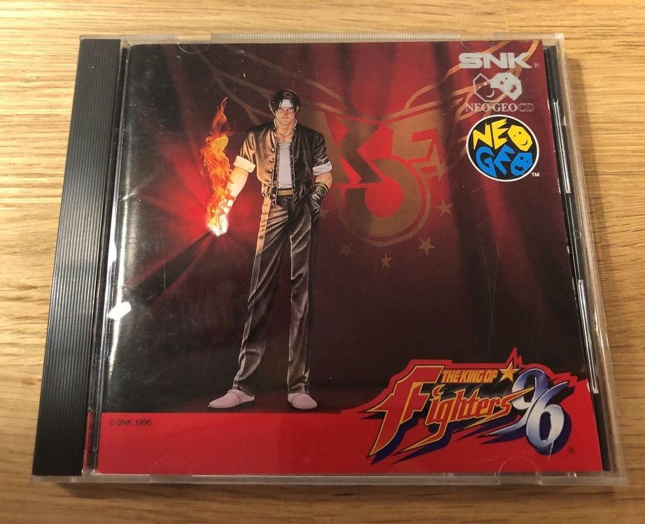 The King of Fighters 96 Neo Geo CD