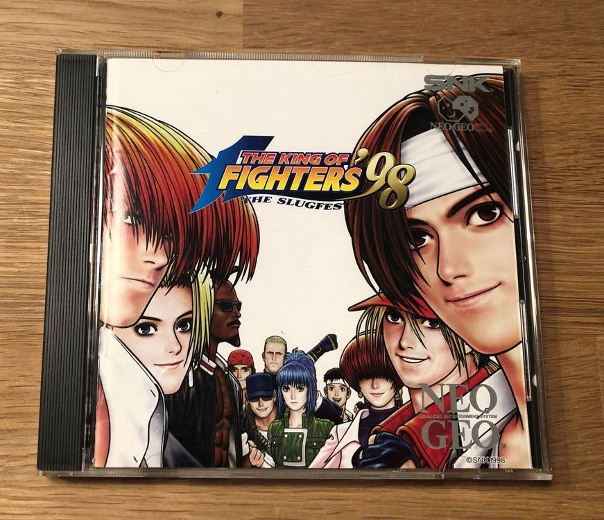 The King of Fighters 98 für Neo Geo CD