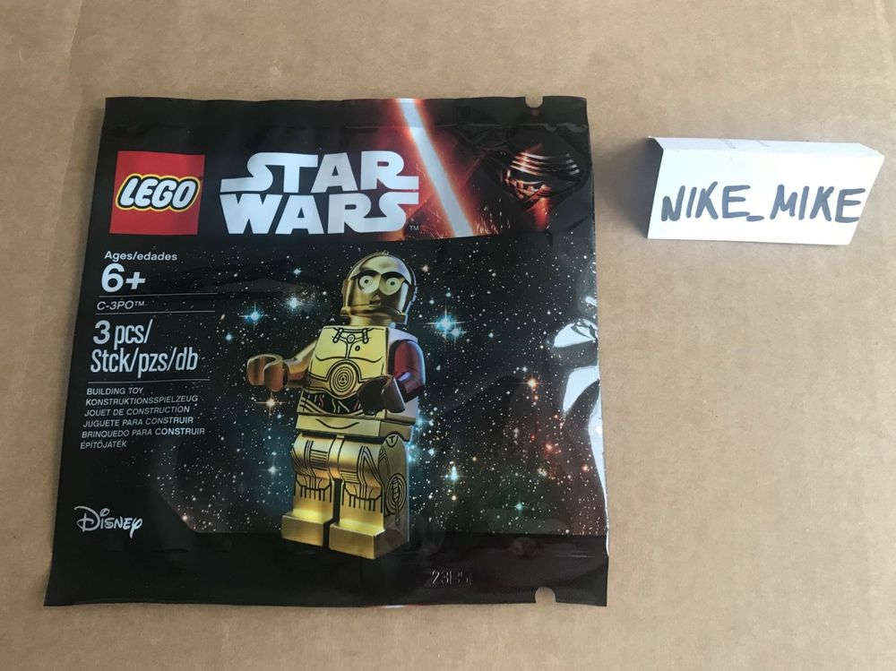 Lego C3PO Red Arm Polybag 5002948 NEU