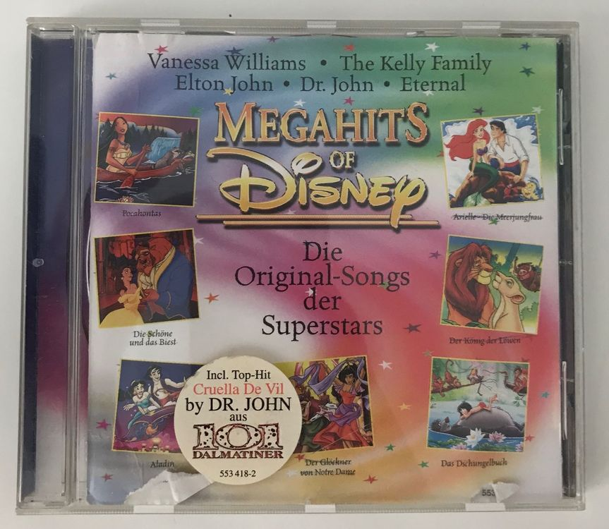 Megahits of Disney