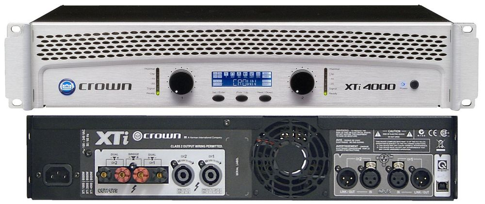 Amplificateur Crown 2x1600 W RMS neuf