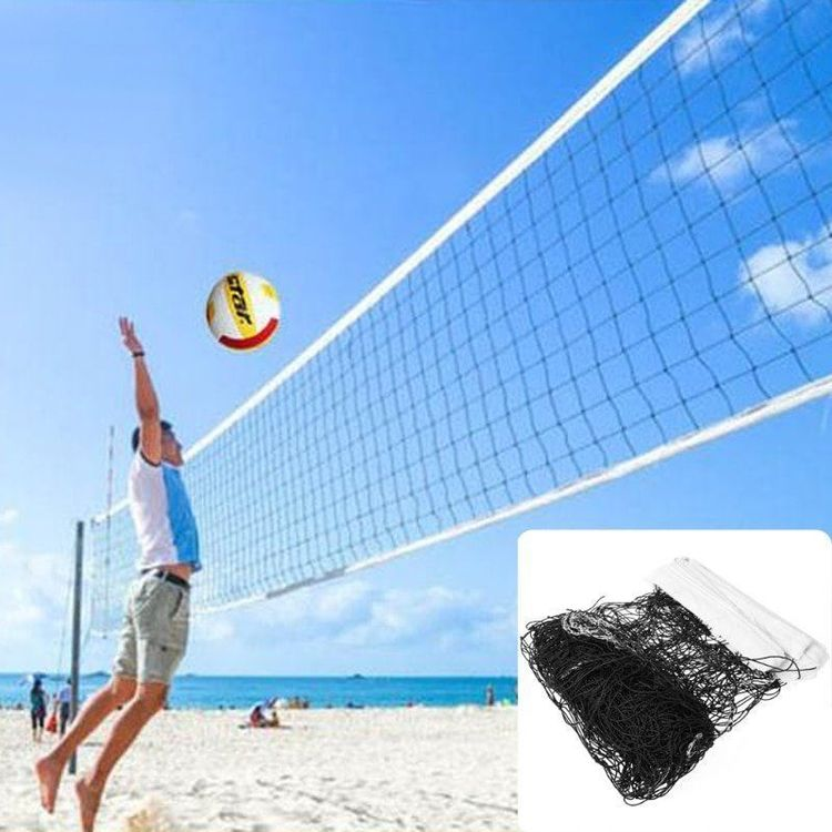 Volleyballnetz / Badmintonnetz 9,5 x 1m
