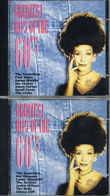 Greatest Hits of the 60s - 2 CDs