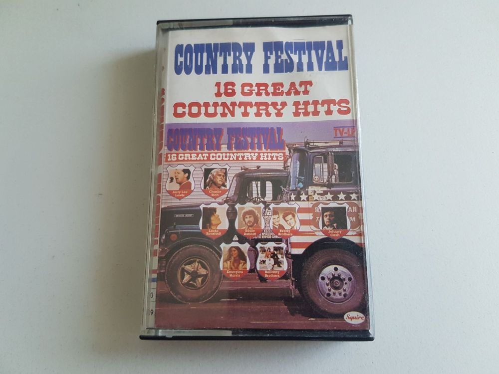 *COUNTRY FESTIVAL* 16 GREAT COUNTRY HITS