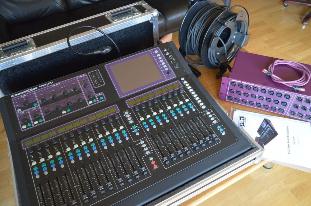 Allen & Heath GLD-80 DigitalMixerGünstig