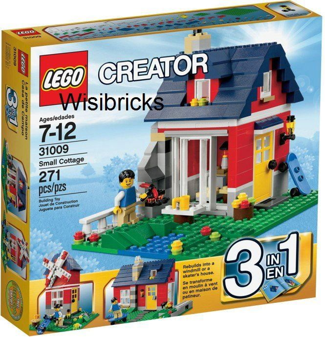 CREATOR Landhaus 31009 - 3in1-Set - NEU!