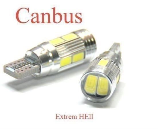 2x  T10 w5w CANBUS Lampe 10 x 5630-SMD