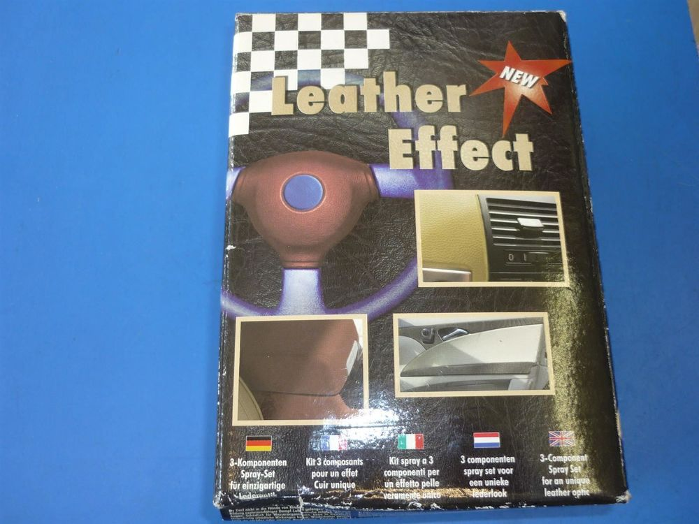 LEATHER EFFECT NEW- elfenbein Farbe