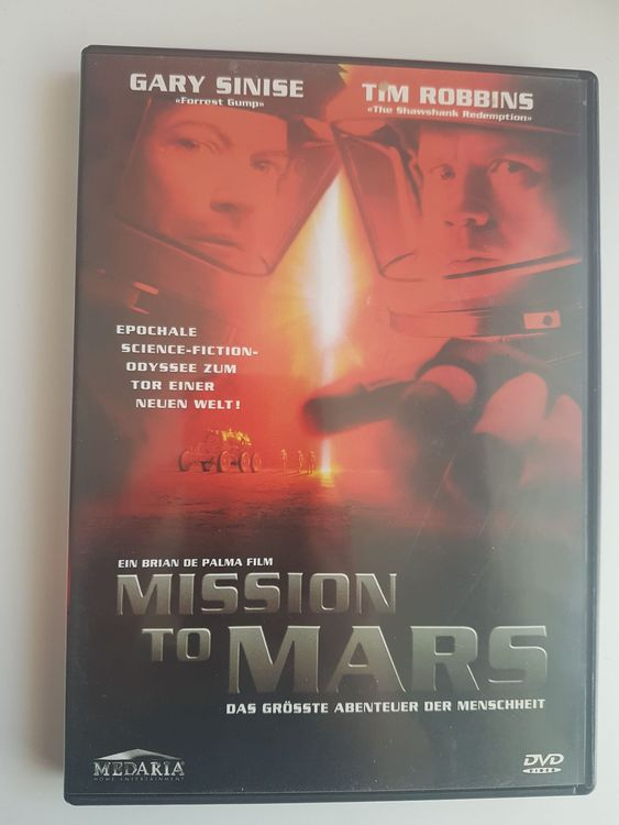 DVD Tim Robbins, Mission to Mars