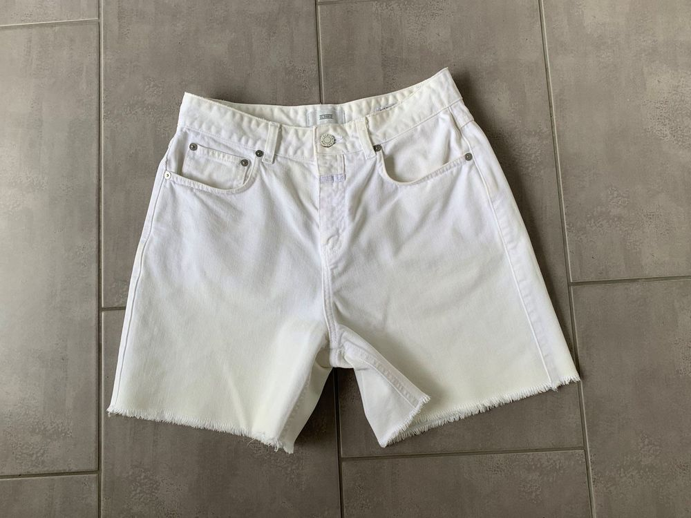 Closed Jeans Shorts weiss Gr 27