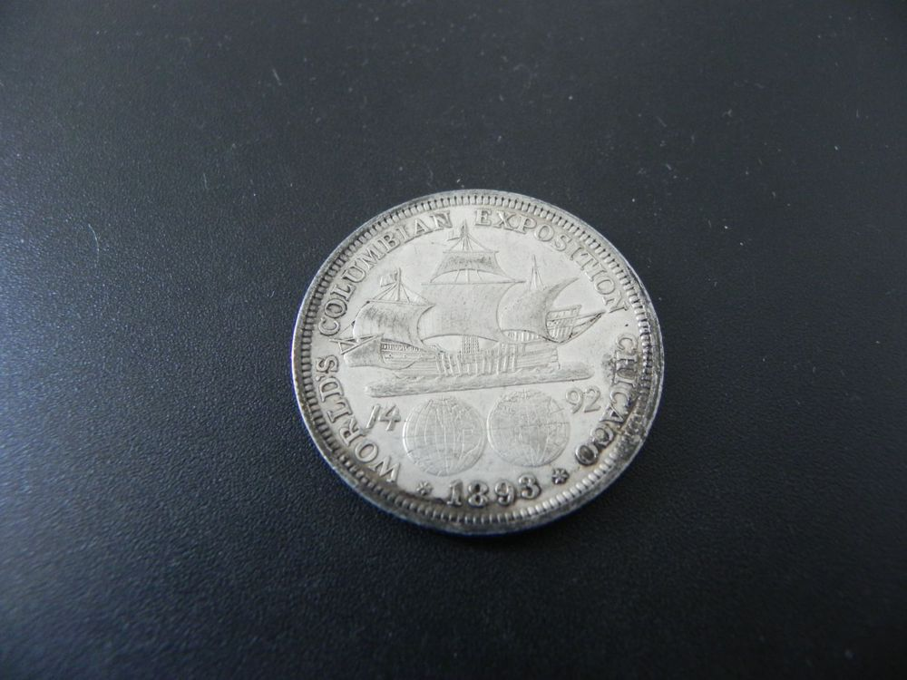 USA 1 Dollar 1893 Silber Columbian Expo