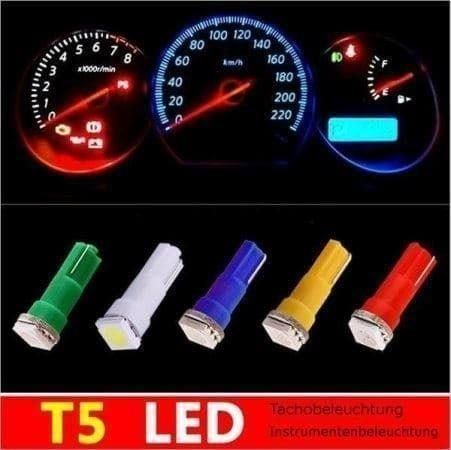Tachobeleuchtung LED T5 3Chip SMD Weiss